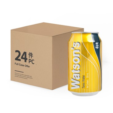 WATSONS - Tonic Water Case - 330MLX24