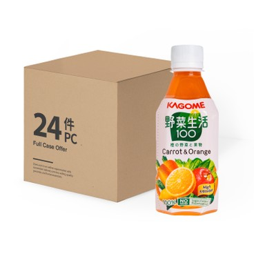 KAGOME - Carrot Mixed Juice Case - 280MLX24
