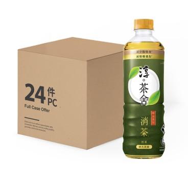 淳。茶舍 - 消茶無糖煎茶飲料(含膳食纖維)-原箱 - 500MLX24