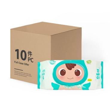 順順兒 - 原箱 頂級實惠嬰兒濕紙巾 - 80'SX10