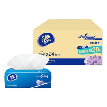 VINDA - Ultra Strong 3 ply Softpack Tissue full Case Single Pack M Size - 24'S