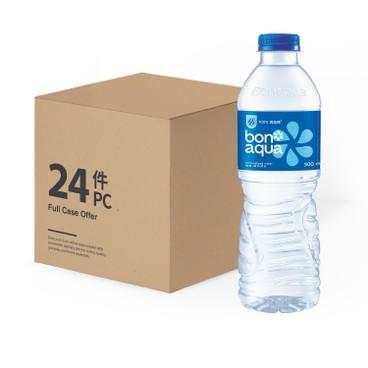 BONAQUA - Mineralized Water Case - 500MLX24