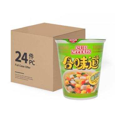 NISSIN - Cup Noodle chicken case - 75GX24