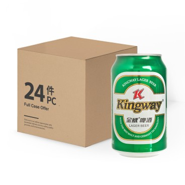 KINGWAY - Beer Can full Case - 330MLX24