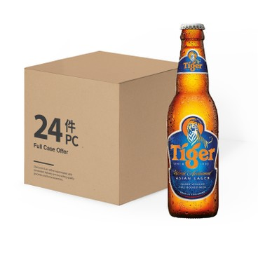 TIGER( PARALLEL IMPORT) - Beer Small Bottle - 330ML X 24
