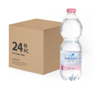 SAN BENEDETTO - Natual Mineral Water Case - 500MLX24