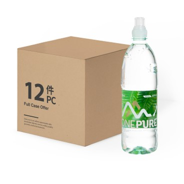 ONEPURE - Still Natural Mineral Water Case - 750MLX12