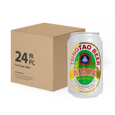 TSING TAO - Can Beer Case - 330MLX24