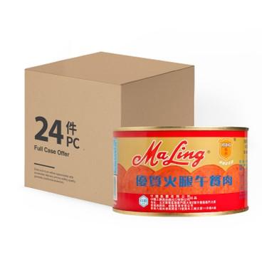 MALING - PREMIUM HAM LUNCHEON MEAT-CASE OFFER - 397GX24