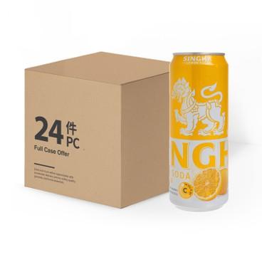 勝獅 - 檸檬味梳打水-原箱 - 330MLX24