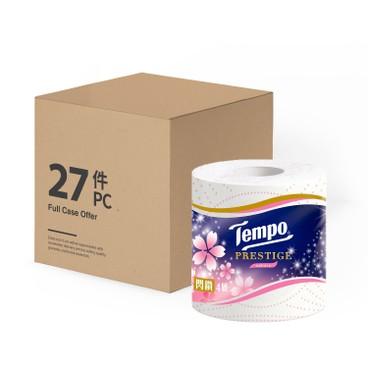 TEMPO - Prestige 4 ply Bathroom Tissue Sakura Limited Edition full Case - 27'S