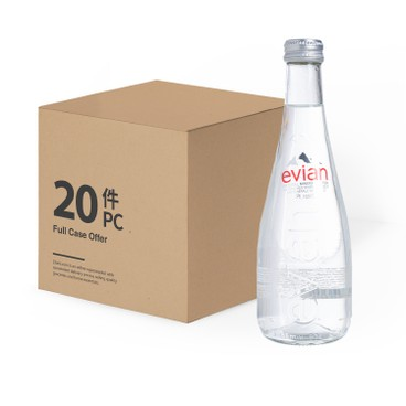 EVIAN(PARALLEL IMPORT) - Natural Mineral Water Glass - 330MLX20