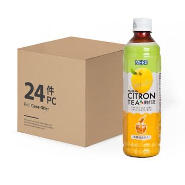 MEKO - Korean Citron Tea case Offer(old Version Packing - 430MLX24