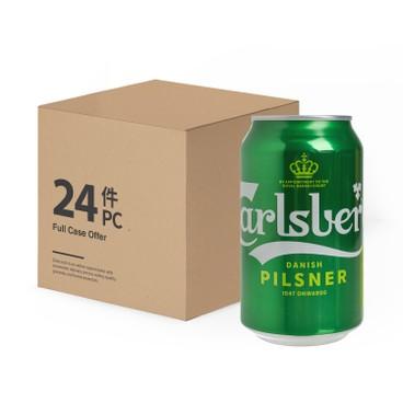 CARLSBERG嘉士伯 - 啤酒 - 原箱 - 330MLX24