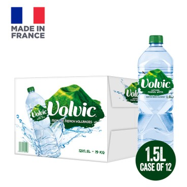 VOLVIC - MINERAL WATER-CASE OFFER - 1.5LX12