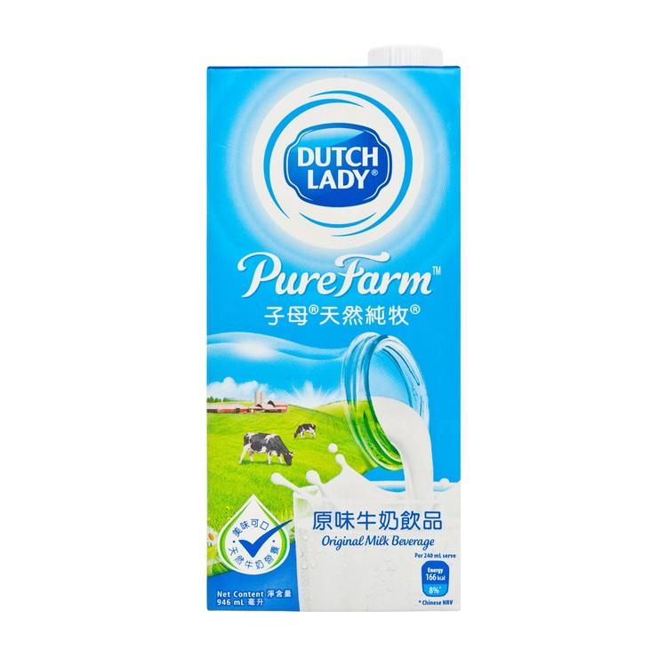 子母 - 天然純牧原味牛奶飲品 - 946ML