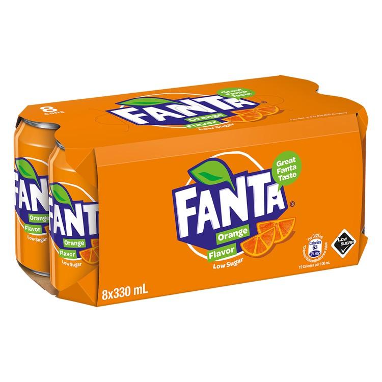 芬達 - 橙汁汽水 - 330MLX8