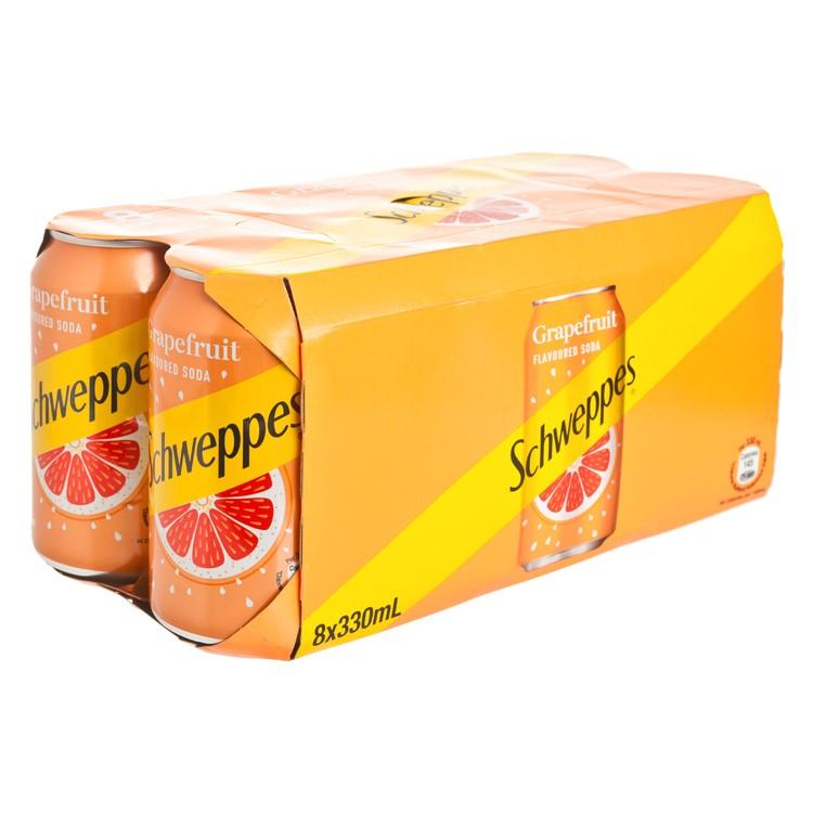 SCHWEPPES - GRAPEFRUIT SODA - 330MLX8