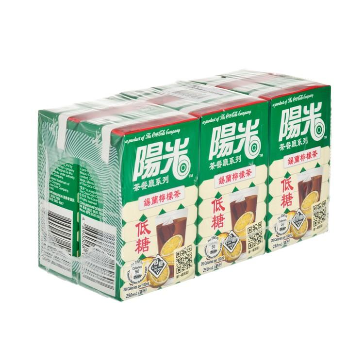 HI-C - CEYLON LEMON TEA-LESS SWEET - 250MLX6