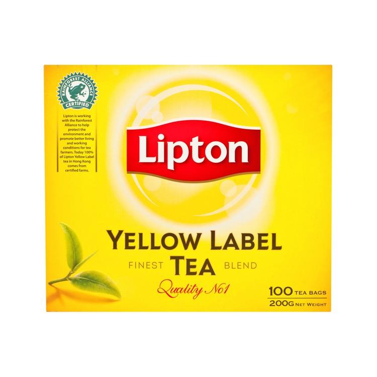 LIPTON - YELLOW LABEL TEABAGS - 2GX100