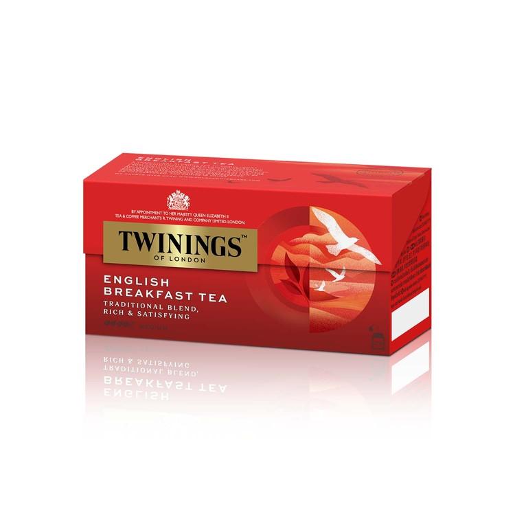 TWININGS - ENGLISH BREAKFAST TEA - 25'S