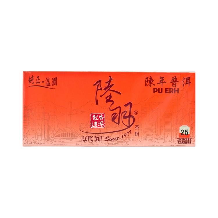LUK YU - CHINESE TEABAGS-PU ERH - 25'S