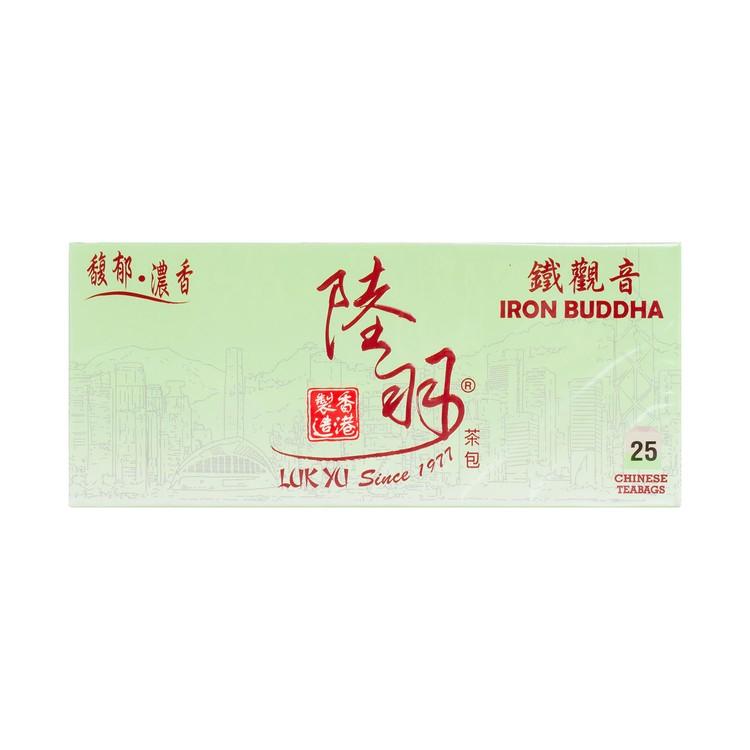 陸羽 - 中國茶包-鐵觀音 - 25'S