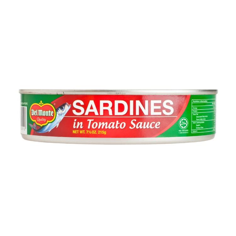 DEL MONTE - SARDINES IN TOMATO SAUCE - 215G