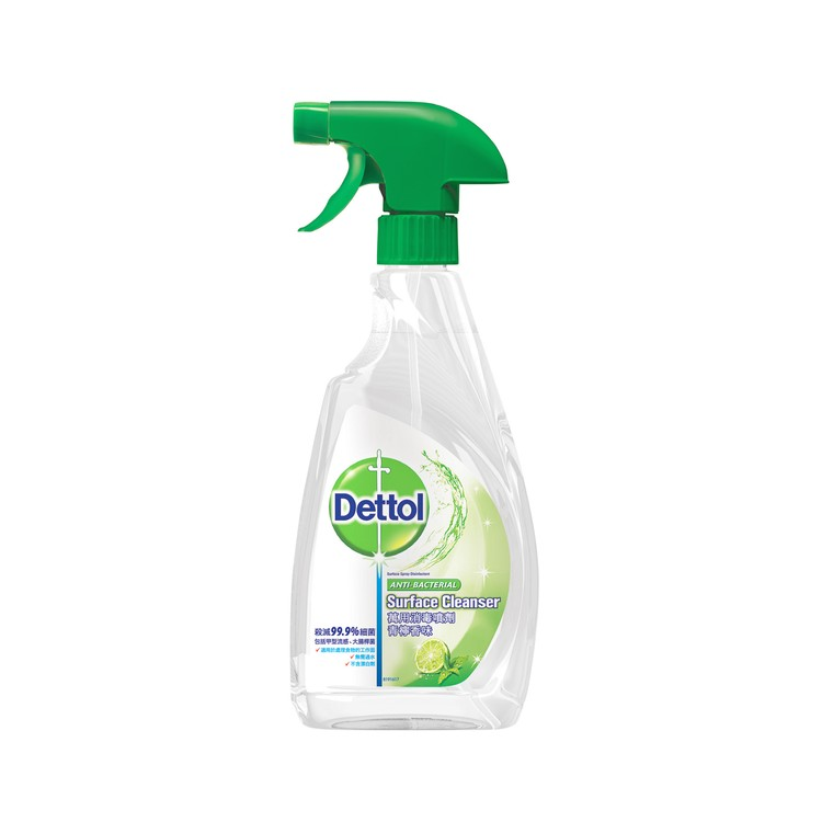 DETTOL - ANTI-BACTERIAL SURFACE CLEANSER-LIME - 500ML