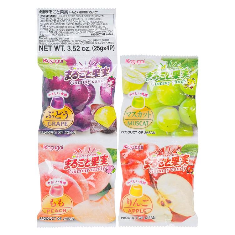 春日井 - 軟糖-綜合果汁100% (四連裝) - PC