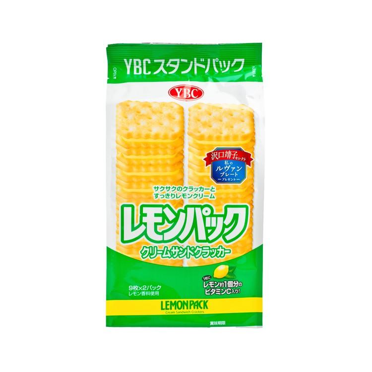 YBC - LEMON PACK CREAM SANDWICH BISCUIT - 18'S