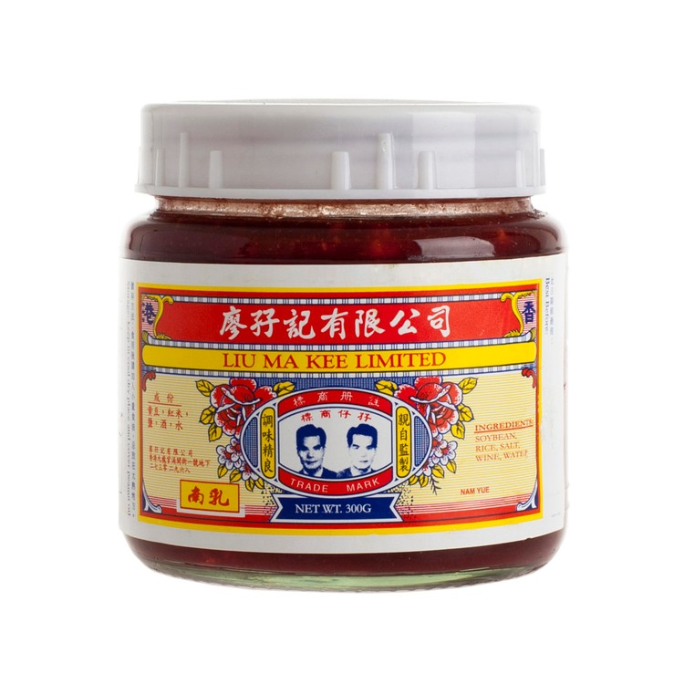 LIU MA KEE - RED WET BEAN CURD - 300G