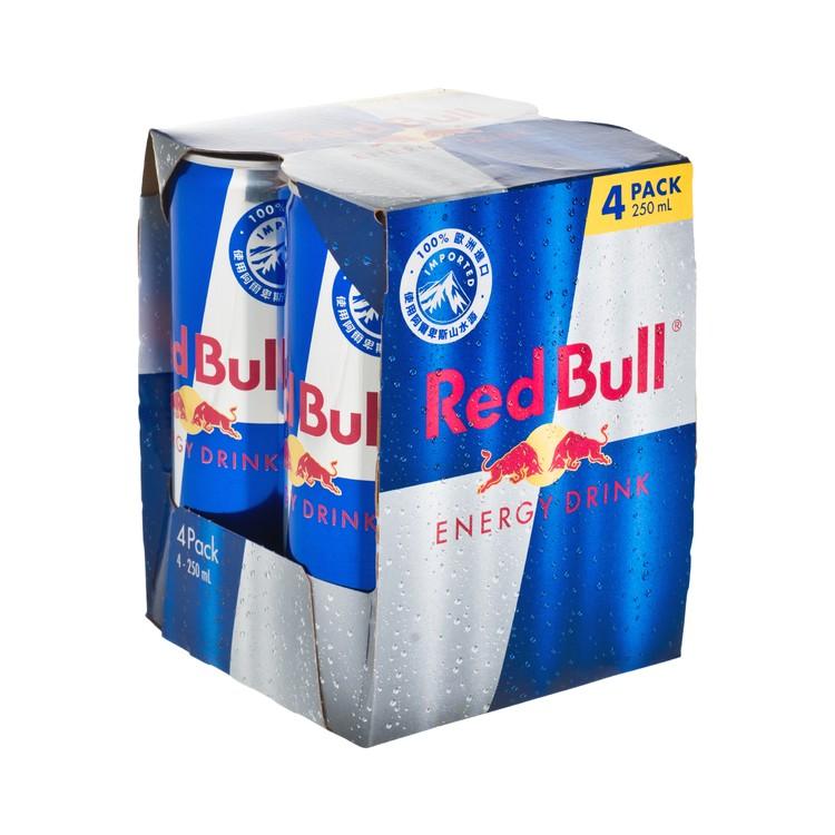 紅牛 - 能量飲品 - 250MLX4