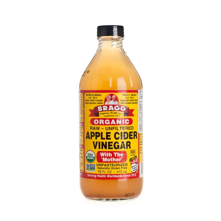 BRAGG - APPLE CIDER VINEGAR - 16OZ