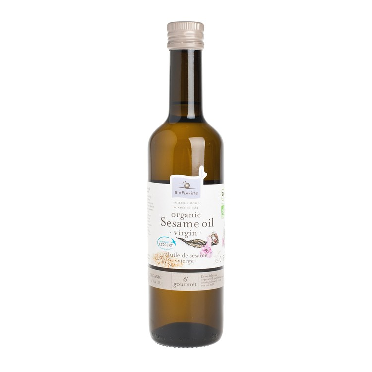 BIO PLANETE - ORGANIC VIRGIN COLD PRESSED SESAME OIL - 500ML