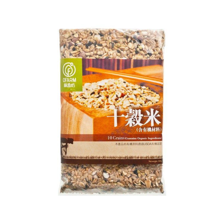 O'FARM - 10-GRAINS - 500G