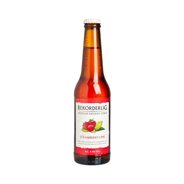 REKORDERLIG - 果酒-士多啤梨青檸 - 330ML