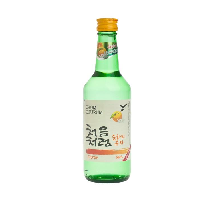 初飲初樂 - 燒酒-柚子味 - 360ML