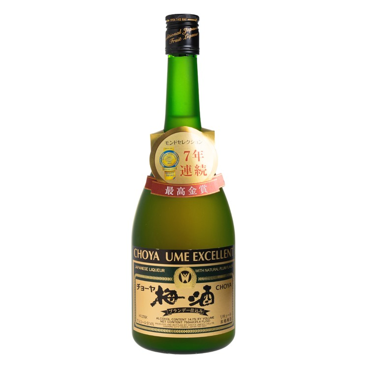 CHOYA - UME LIQEUR EXCELLENT - 750ML