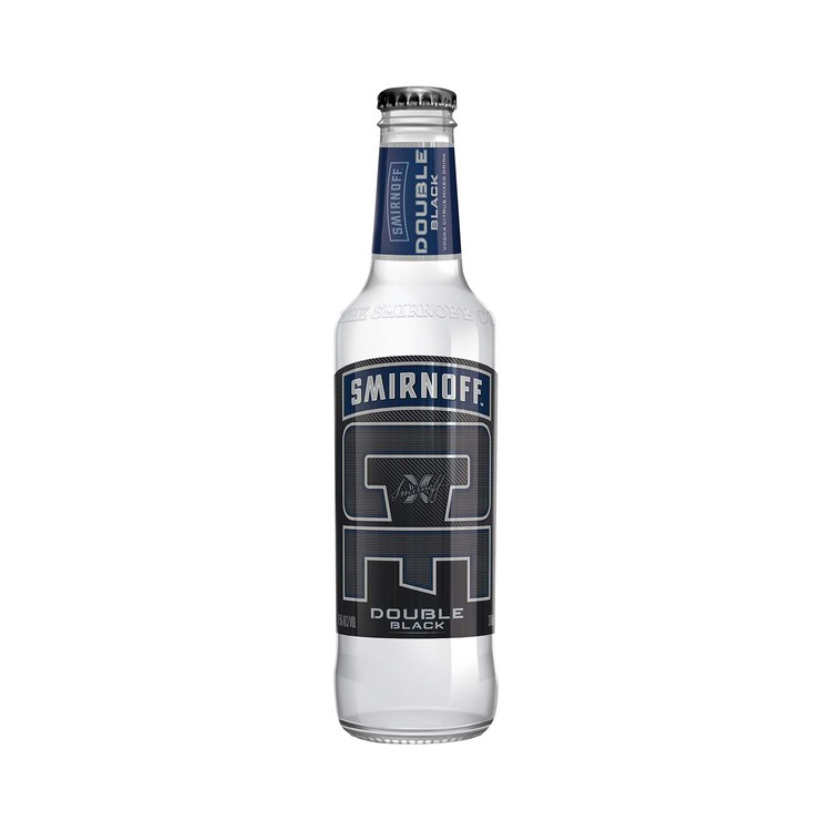 SMIRNOFF ICE - DOUBLE BLACK BOTTLE - 300ML