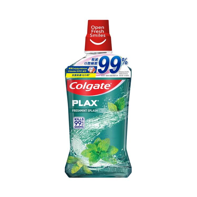 COLGATE - PLAX FRESH MINT MOUTH RINSE - 1L