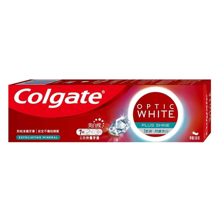 高露潔 - 光感白閃鑽亮白牙膏 - 100G