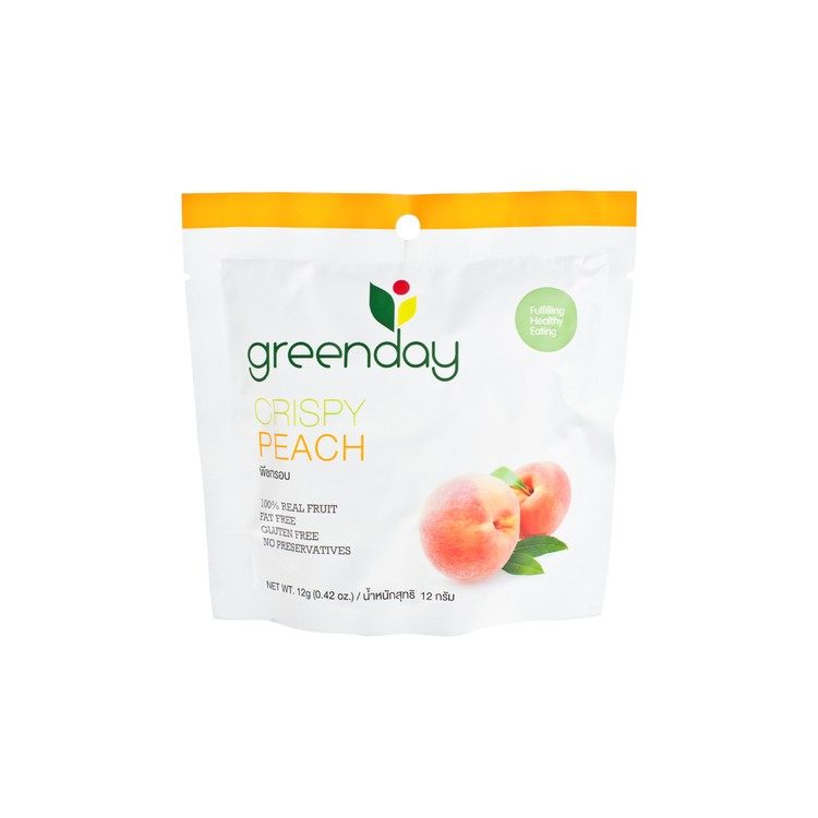 GREENDAY - CRISPY PEACH - 12G