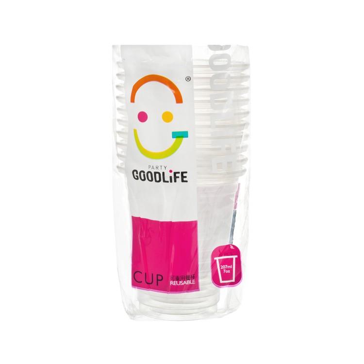 生活好 - 7OZ 塑膠杯 - 10'S