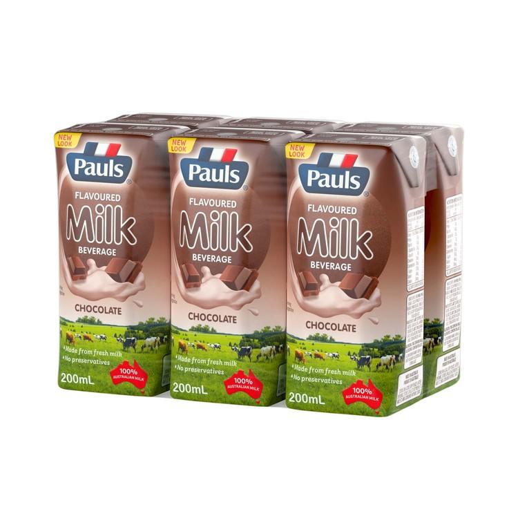 PAULS 保利 - 朱古力牛奶飲品 - 200MLX6
