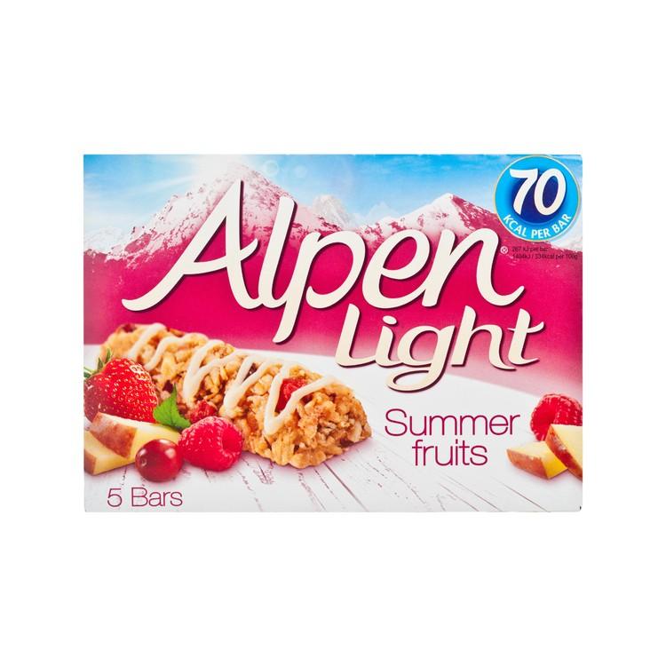 ALPEN - LIGHT CEREAL BAR - SUMMER FRUITS - 19GX5