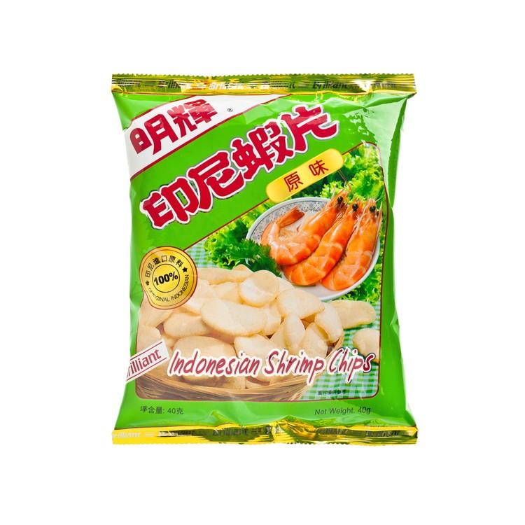 明輝 - 印尼蝦片-原味 - 40G