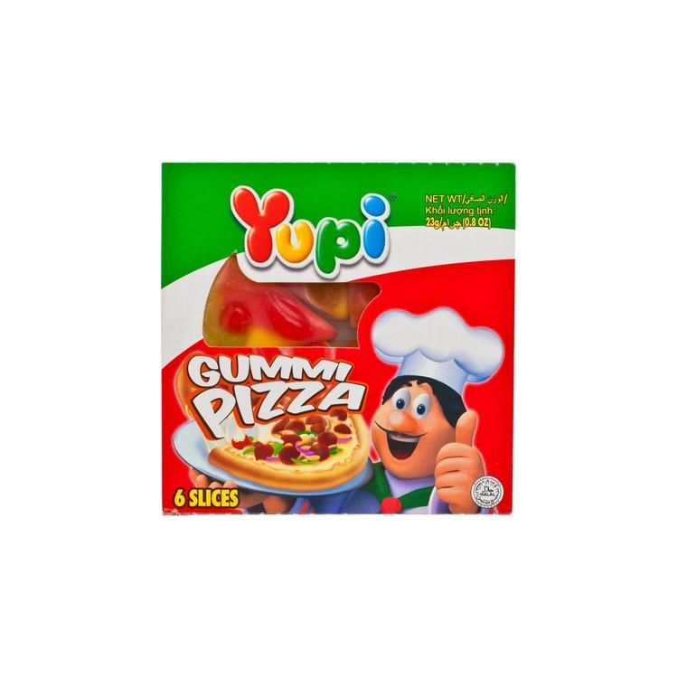 YUPI - GUMMI CANDY-MINI PIZZA - 23G