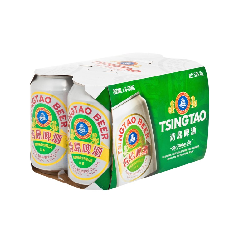 TSING TAO - CAN BEER - 330MLX6