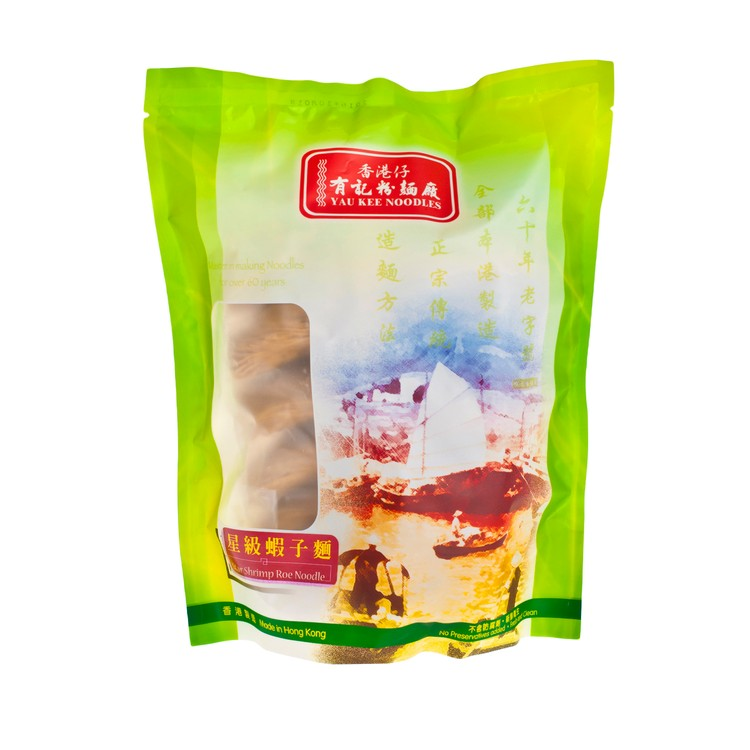 YAU KEE - STAR SHRIMP ROE NOODLE-THIN - 50GX12